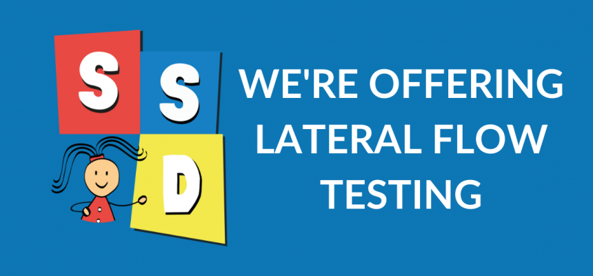 We're Offering Lateral Flow Testing
